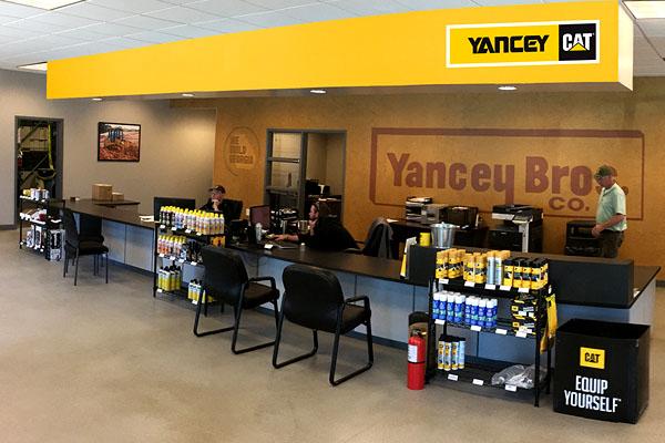Yancey Bros. Co. McDonough Lobby