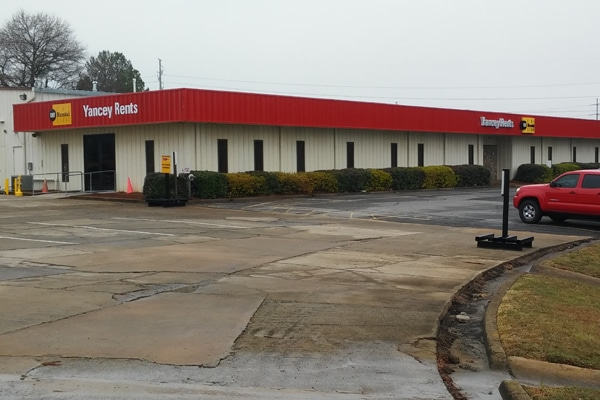 Yancey Rents Kennesaw Store