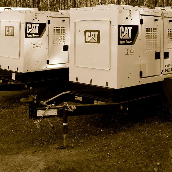 Cat Mobile Generator Rentals