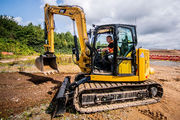 Next Gen Mini Cat Excavator