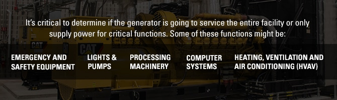 How to Size A Generator Rental