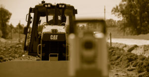 Sitech with Cat Machine